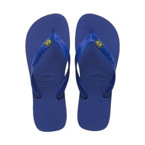 Havaianas Brazil Flip Flops Marine Blue - Womens