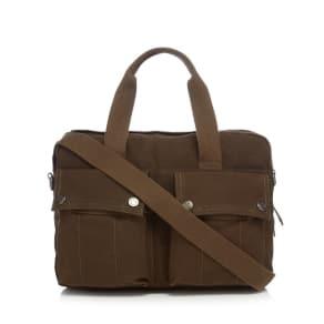 rjr.john Rocha Green Canvas Bag