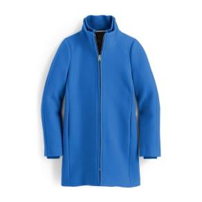 Women's j.crew Yulia Wool Blend Coat, Size 0 - Blue