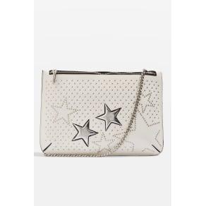 Womens Madonna Star Stud Clutch Bag