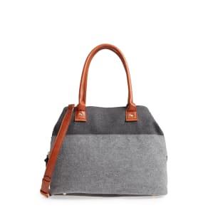 Sole Society Chasity Duffel Bag - Black
