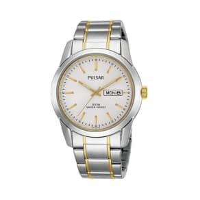 Pulsar - Mens Two Tone Bracelet Watch