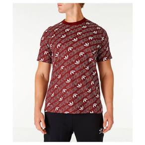 Adidas Men's Originals Adicolor Monogram T-Shirt, Black