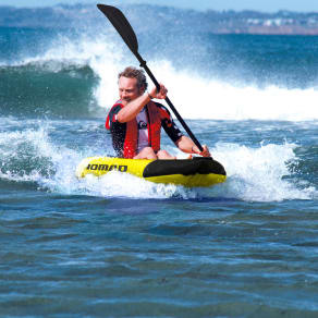 Blue Wave Sports Nomad 1-Person Inflatable Kayak, Gold