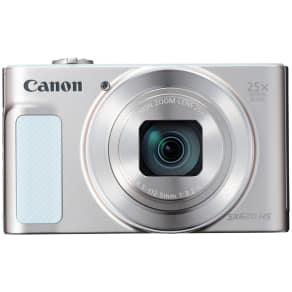 Canon Powershot Sx620 Digital Camera, Hd 1080p, 20.2mp, 25x Optical Zoom, Wi-Fi, Nfc, 3 Screen