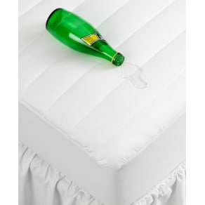 Closeout! Home Design Waterproof Full Mattress Pad, Down Alternative Fiber Fill, Created for Macy's Bedding