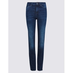 M&S Collection 360 Contour Mid Rise Straight Leg Jeans