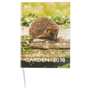 Rhs Wild in the Garden Desk 2018 Diary