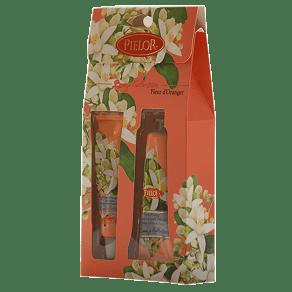 Pielor Breeze Collection Fleur d'Orange Hand Cream 30ml & Lip Balm 12m