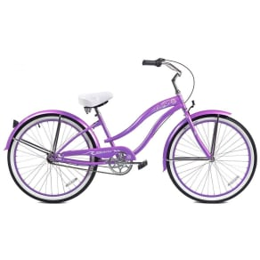 "Micargi 26"" Women's Rover Nx3 Beach Cruiser, Purple"