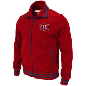 Montreal Canadiens Mitchell & Ness Nhl Cross Check Track Jacket