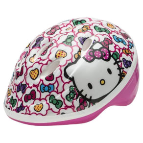 Hello Kitty Toddler Bike Helmet - White/Pink