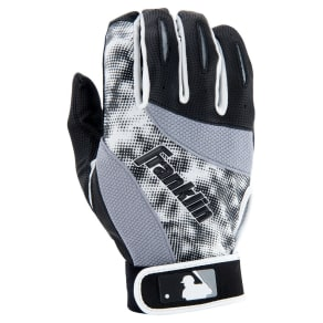 Franklin Sports Mlb 2nd Skinz Batting Glove Pair Pk Assortment Youth Large - Black/White, Multi-Colored
