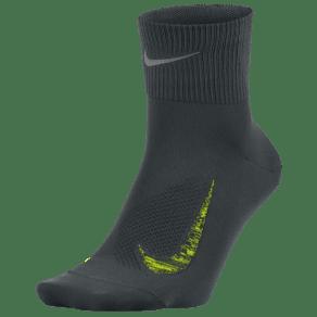 Nike Elite Run Lightweight 2.0 Quarter - Seaweed/Volt