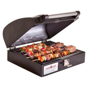 Camp Chef Deluxe Bbq Grill Box Accessory, Black