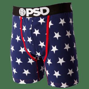 Jimmy Butler Psd Star Spangel Brief - Mens - Navy