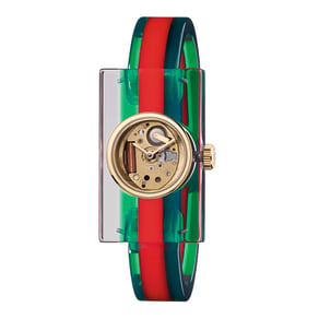 Gucci Plexiglass Fashion Ladies Watch