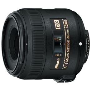 Nikon Af-S 40mm F/2.8 G Dx Compact Nikkor Lens