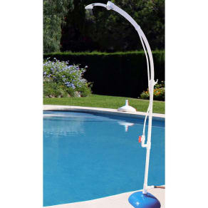 Heritage Poolside Shower, White