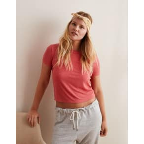 Aerie Real Soft(R) Ribbed Baby Tee