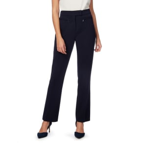 The Collection Petite Navy Straight Leg Petite Suit Trousers