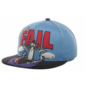 Tom And Jerry Tom And Jerry Epic Fail Snapback Cap