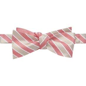 1905 Collection Stripe Bow Tie