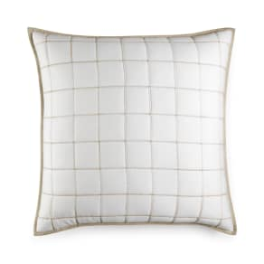Hotel Collection Waffle Weave Quilted European Sham, Created for Macy's Bedding