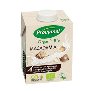 Provamel Organic Macadamia Drink Sweetened With Agave Syrup 500ml - 500ml