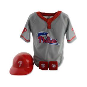 Franklin Sports Boys' Philadelphia Phillies Four-Piece Team Set