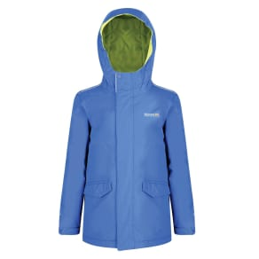 Regatta Kids Hurdle Waterproof Jacket, Royal Blue