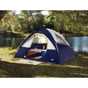 Northwest Territory Rio Grande Quick Camp Tent 10' X 8', Dark Blue & Light Gray