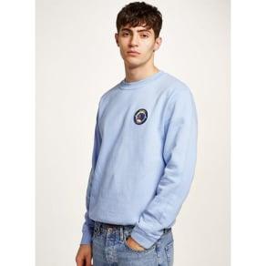 9b67ff07fc0 Mens Blue Rinse Vintage Blue Patch Sweatshirt