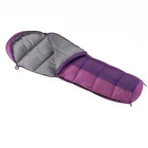 Wenzel Girl's Backyard 30deg Mummy Sleeping Bag, Purple