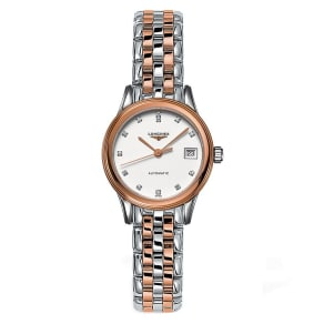 Longines Flagship Ladies' Diamond Two Colour Watch