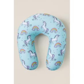 Alanna Unicorn Neck Pillow - Mint