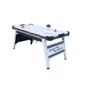 Joola Sport Squad 66in Air Powered Hockey Black/Gray With Table Tennis Conversion Top