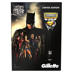 Gillette Fusion Proshield Razor Justice League Gift Set