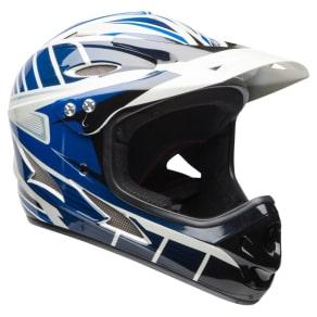 Bell Exodus Full Face Youth Helmet - Blue/Black, Black/White