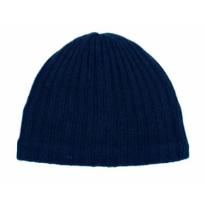 Dents Mens Knitted Hat, French Blue