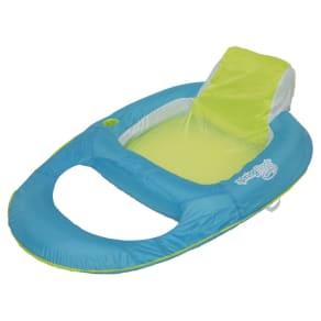 Spring Float Recliner - Light Blue /Green, Light Blue/Green