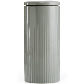 Hotel Collection Modern Porcelain 2-Pc. Large Canister, Created for Macy's