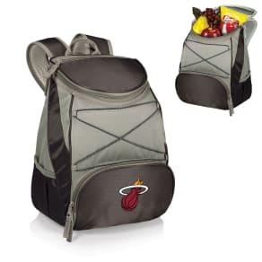 Picnic Time Ptx Backpack Cooler - Black (Miami Heat) Digital Print