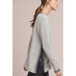 Wilt Ringer Split-Side Sweatshirt