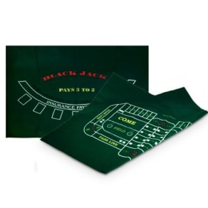 Sterling Games Blackjack & Craps Game Layout