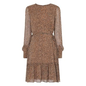 Dakota Leopard Print Dress