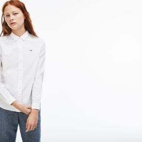 Live Slim Fit Oxford Cotton Shirt