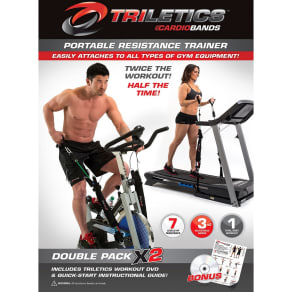 Triletics Double Pack Add Resistance Training to Machine, Multi-Colored
