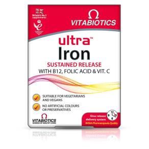 Vitabiotics Ultra Iron - 30 Tablets