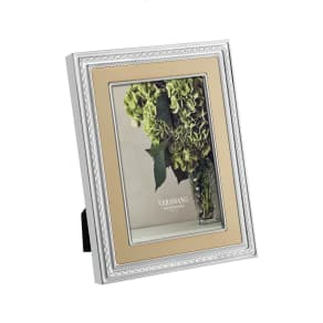 Vera Wang X Wedgwood With Love Picture Frame, Size 5x7 - Metallic